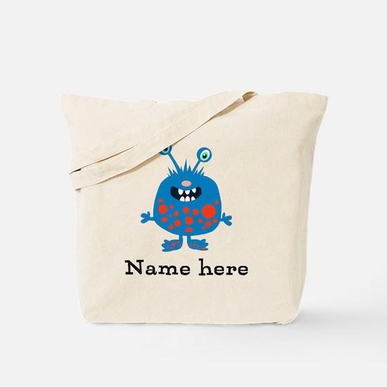 Blue Monster (p) Tote Bag