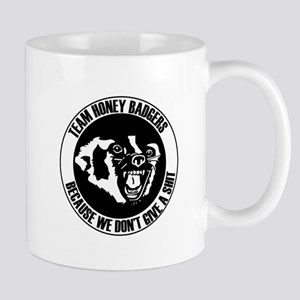 Team Honey Badgers Round Mugs