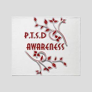 P.T.S.D. AWARENESS Throw Blanket