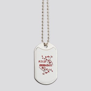 P.T.S.D. AWARENESS Dog Tags