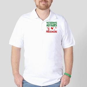 Veterans Affairs Massacre Golf Shirt