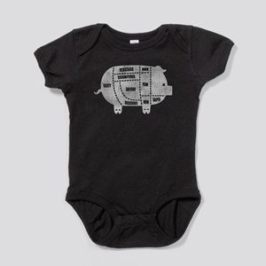 Pork Cuts III Baby Bodysuit