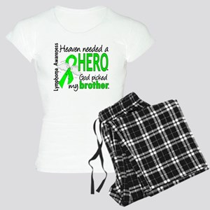 Lymphoma HeavenNeededHero1 Women's Light Pajamas
