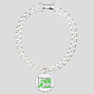 Lymphoma HeavenNeededHer Charm Bracelet, One Charm