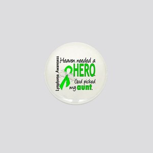 Lymphoma HeavenNeededHero1 Mini Button
