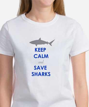 Keep Calm and Save Sharks T-Shirt