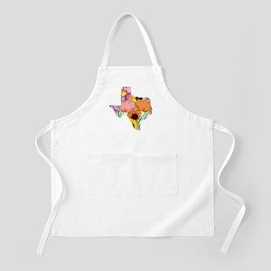 Floral Texas Apron