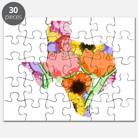 Floral Texas Puzzle
