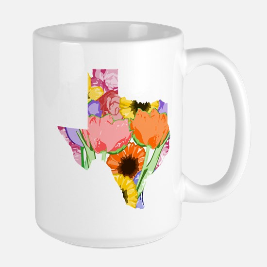 Floral Texas Mugs
