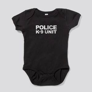 Police K-9 Unit - White Text Body Suit