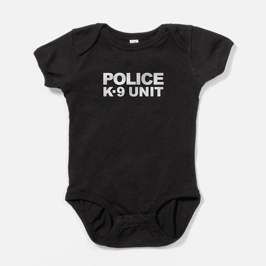 Police K-9 Unit - White Text Body Suit