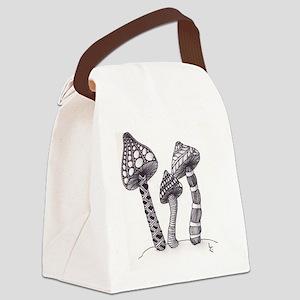 TripleShroom Canvas Lunch Bag