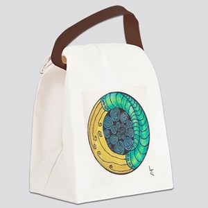 Swirling/Twirling Canvas Lunch Bag