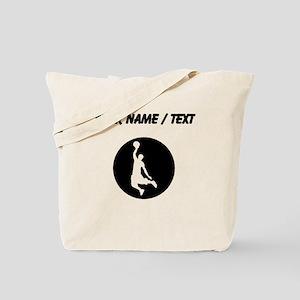 Custom Basketball Dunk Tote Bag