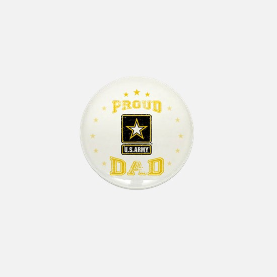 US Army proud Dad Mini Button