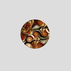 Abstract Design Mini Button