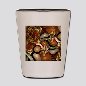 Abstract Design Shot Glass