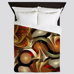 Abstract Design Queen Duvet