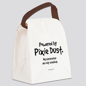Powered by Pixie Dust Canvas Lunch Bag