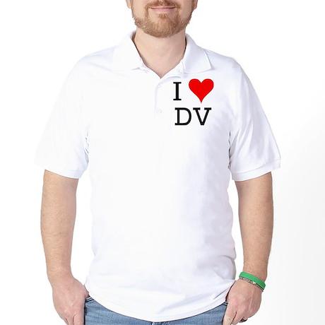 I Love DV Golf Shirt