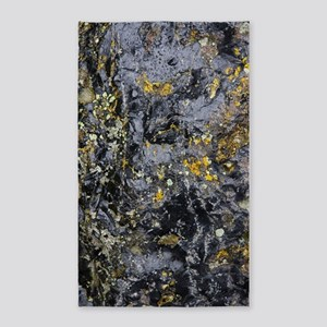 Obsidian and Lichen 3'x5' Area Rug