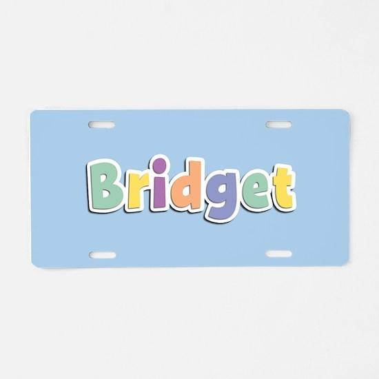 Bridget Spring14 Aluminum License Plate
