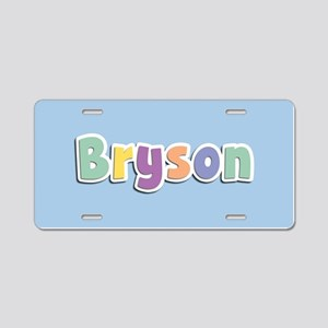 Bryson Spring14 Aluminum License Plate