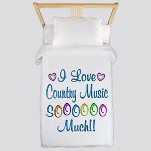 Country Love So Much Twin Duvet