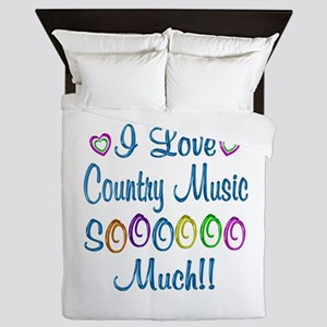 Country Love So Much Queen Duvet