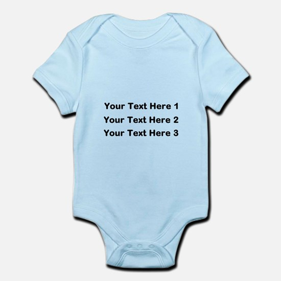 Make Personalized Gifts Body Suit