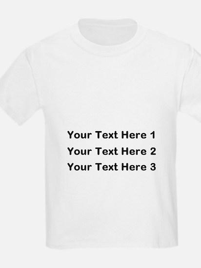 Make Personalized Gifts T-Shirt