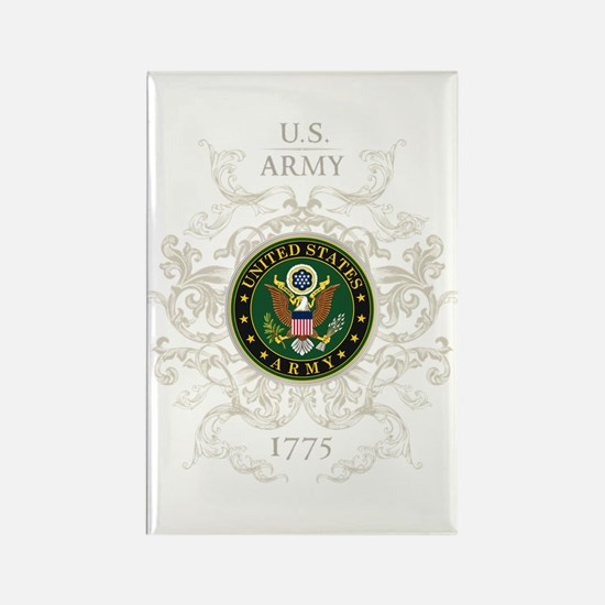 US Army Seal 1775 Vintage Rectangle Magnet