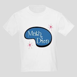 Math Diva Kids Light T-Shirt