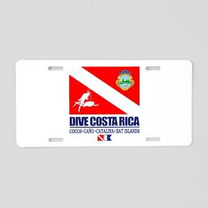 Dive Costa Rica Aluminum License Plate