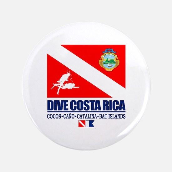 """Dive Costa Rica 3.5"""" Button"""