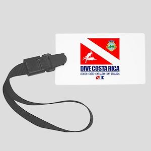 Dive Costa Rica Luggage Tag