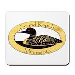 Grand Rapids Loon Mousepad