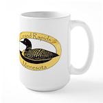 Grand Rapids Loon Large Mug