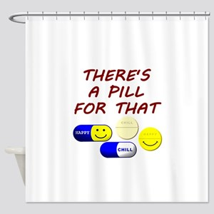There's A Pill For That Shower Curtain