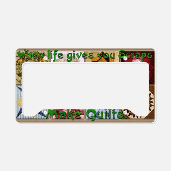 Harvest Moons Quilts License Plate Holder