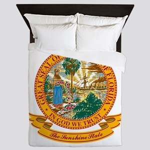 Florida Seal Queen Duvet