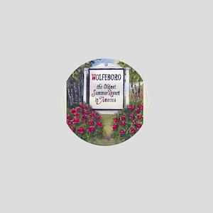 WOLFEBORO SIGN Mini Button