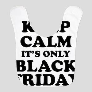 Keep Calm Black Friday Bib