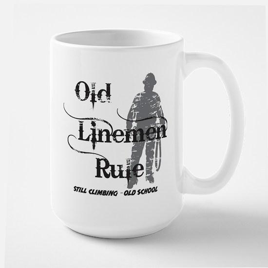 old linemen rule 2 Mugs