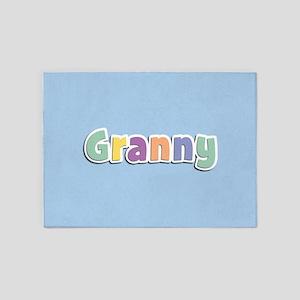 Granny Spring14 5'x7'Area Rug