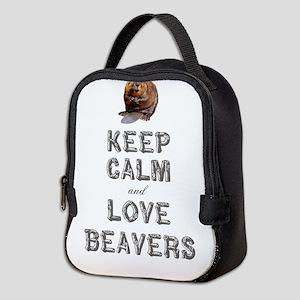 Wood Badge Beaver Neoprene Lunch Bag