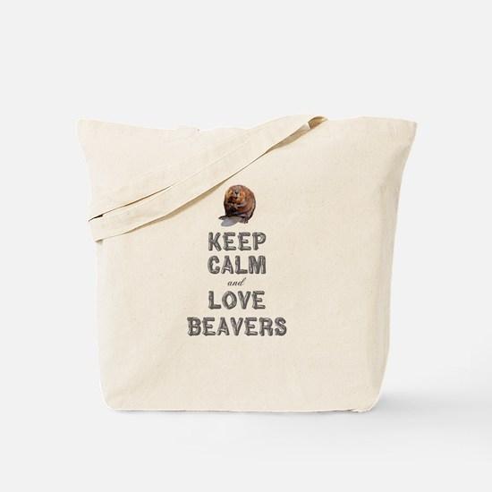 Wood Badge Beaver Tote Bag