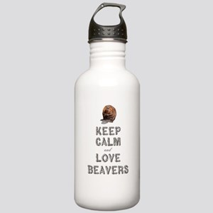 Wood Badge Beaver Stainless Water Bottle 1.0L