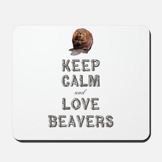 Wood Badge Beaver Mousepad