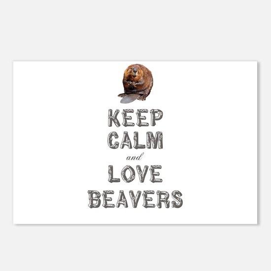 Wood Badge Beaver Postcards (Package of 8)